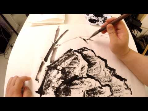 Easy Chinese Calligraphy - Secret of the Yin and Yang Methods, Paintings