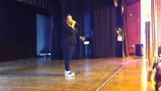 Amy Mottram singing