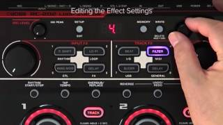RC-202 Quick Start chapter7 : Editing the Effect Sound