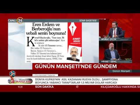 Ahmet Kekeç: Eren Erdem ve Berberoğlu'nun vebali senin boynuna!