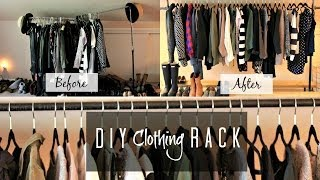 Diy Clothing Rack! | Missfashioneda