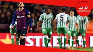 Barcellona-Betis 3-4: Messi segna una doppietta ma Valverde va ko