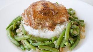 Гарнир из стручковой фасоли - видео-рецепт - Дело Вкуса(Это блюдо из стручковой фасоли можно подавать в качестве горячего салата или гарнира. Пошаговый рецепт..., 2013-01-12T19:32:58.000Z)