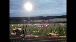 Tri Valley Marching Band at LV 10/19/2013