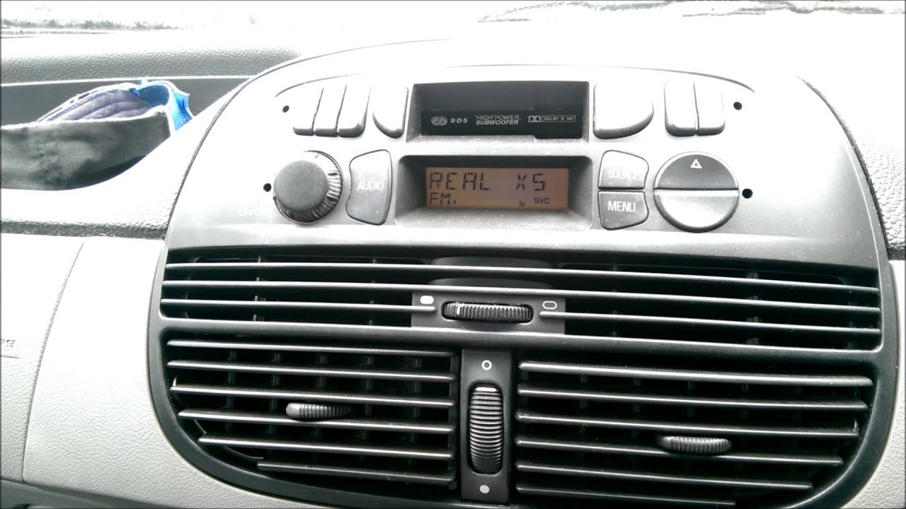 blaupunkt radio cassette in fiat punto youtube. Black Bedroom Furniture Sets. Home Design Ideas