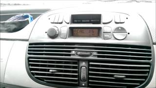 Blaupunkt Radio Cassette in Fiat Punto