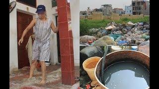 Đặc sản miến Cự Đà, rửa bằng nước mương, phơi bên núi rác đầy ruồi nhặng