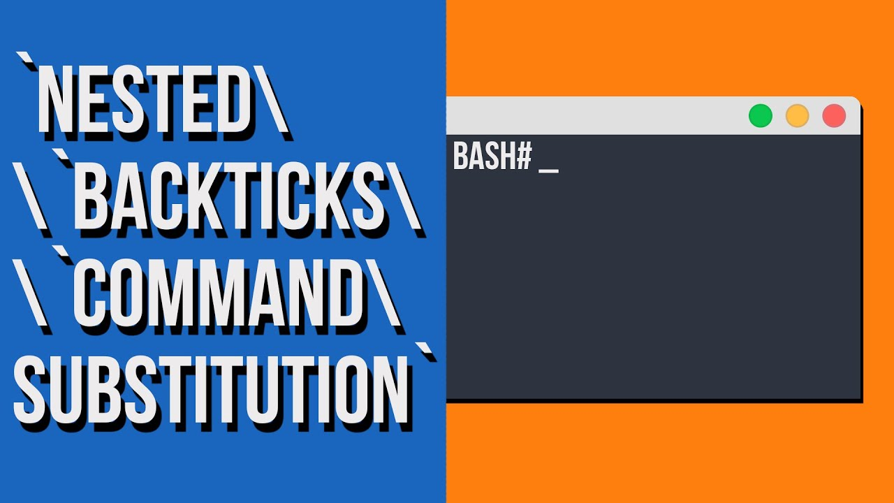 Nesting Backticks Linux Command Substitution