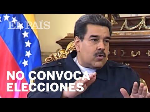 MADURO rechaza el ultimátum para convocar elecciones