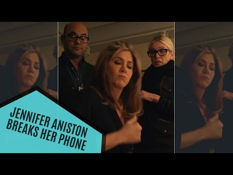 Jennifer Aniston BREAKS Her Phone Out of Frustration Within A Day Of Her Instagram Debut | Hollywood
