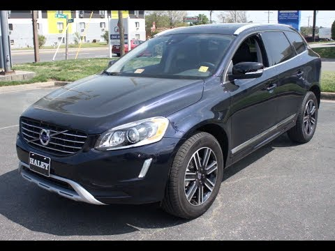 2017 Volvo Xc60 T5 Awd Dynamic Walkaround Start Up Tour And Overview
