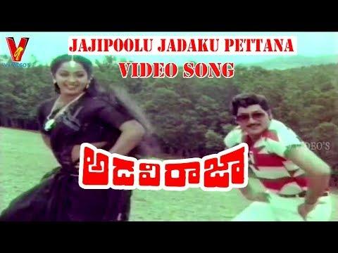 JAJIPOOLU JADAKU PETTANA | VIDEO SONG | ADAVI RAJA | | SOBHAN BABU | RADHA | V9 VIDEOS