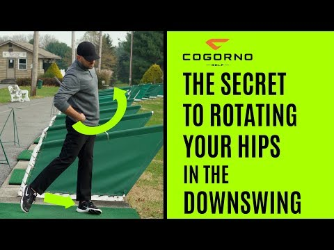 GOLF: The Secret To Rotating Your Hips In The Downswing