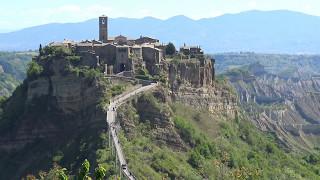 Civita di Bagnoregio. Italy in 4K