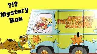 Warner Brothers Scooby Doo Mystery Machine Surprise Box pretend play toys