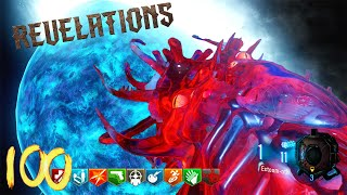 "BLACK OPS 3 ZOMBIES ""REVELATIONS"" ROUND 100 HIGH ROUNDS SPEEDRUN! (BO3 Zombies)"