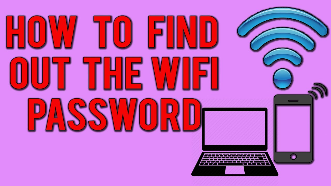 how to find th wifipasword