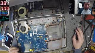 Laptop Motherboards Lesson, Simulating Faults, let's short the power supplies