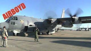 Inside The AC-130 - Training Flight