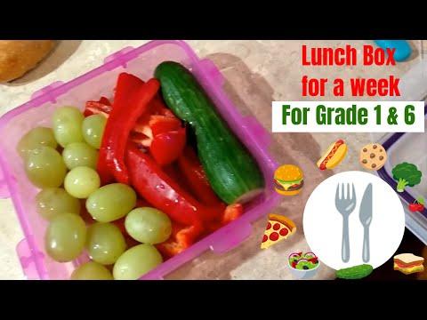 Меню на неделю в школу. Weekly Food Menu (Канада) Kids Lunch Box 2019
