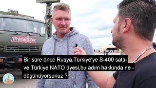RUSLARA S-400'LERİ SORDUK (Türkiye'ye Satılması Doğru mu ?)