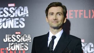 David Tennant on Kilgrave - Marvel