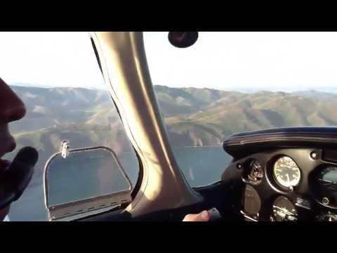 Flight over Point Bonita Lighthouse San Francisco