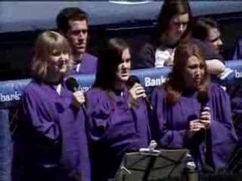 2008 NYU commencement (3/37) -- national anthem