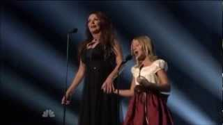 Time to Say Goodbye - Jackie Evancho & Sarah Brightman (Duet)