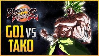 DBFZ ▰ Tako Vs GO1 - DBS Broly Matches【Dragon Ball FighterZ】