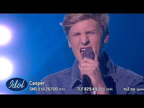 Casper leverer en god cover av Mercy - Shawn Mendes   Idol Norge 2018