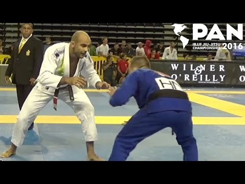 Bernardo Faria VS Ezra Lenon / Pan Championship 2016