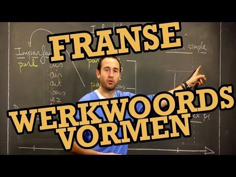 Overzicht Franse werkwoordsvormen - 3de graad Frans