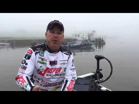 Chad Morgenthaler: Day 2 at the BASS Elite on the Sabine River