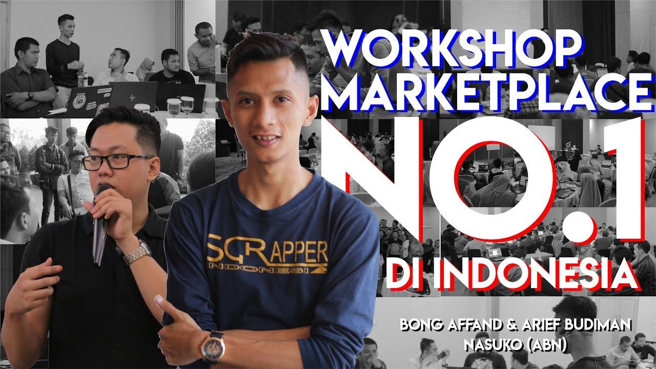 BISNIS ONLINE VLOG (WORKSHOP MARKETPLACE NO.1 DI INDONESIA ...
