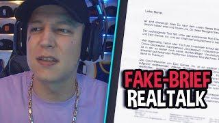 Fake-Brief von Zuschauer? 😱 Heftige YouTube Einnahmen! | MontanaBlack Realtalk
