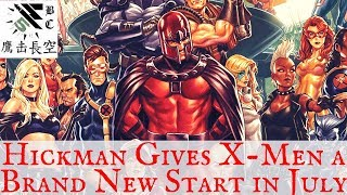 Jonathan Hickman Cancels X-Men Line for a Fresh Start