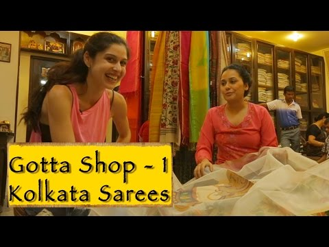 Saree Shopping || Kolkata