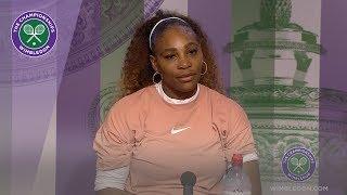 Serena Williams Wimbledon 2019 third round press conference
