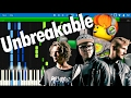 LEGO NEXO KNIGHTS - Unbreakable by CARPARK NORTH | Synthesia Piano Tutorial