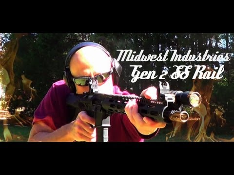 Midwest Industries Gen 2 SS Series Free Float Handguard Review (HD)