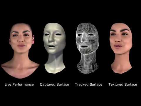 MOVA Contour Reality Capture (2007) - Advanced CGI facial animation
