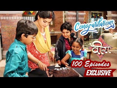 Telly Tadka Exclusive - 100 Episodes Completion Celebration on Sets of Veera