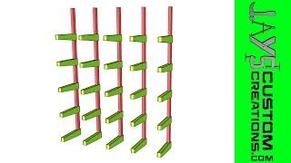 Sketchup: Lumber Rack - 162