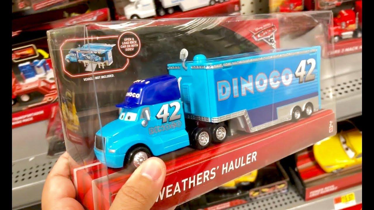 Disney Pixar Cars 3 Toys Hunt Jurassic World Fallen Kingdom Toy