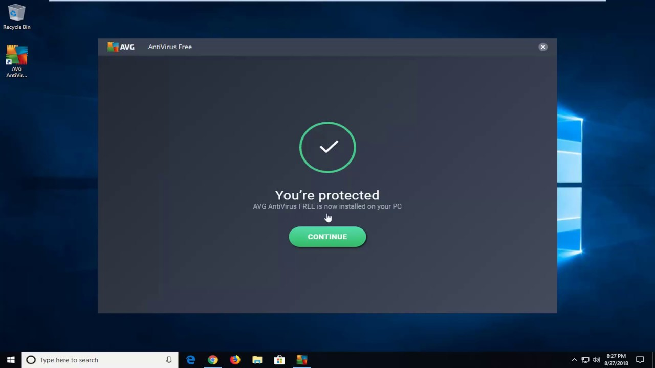 How To Download And Install AVG Free Antivirus 2019
