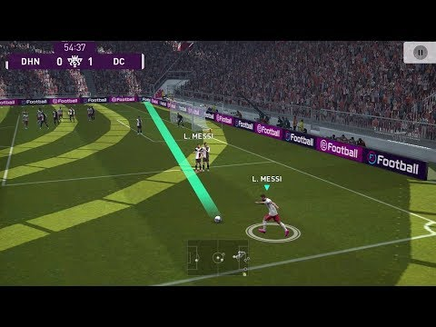 Pes 2020 Mobile Pro Evolution Soccer Android Gameplay #1