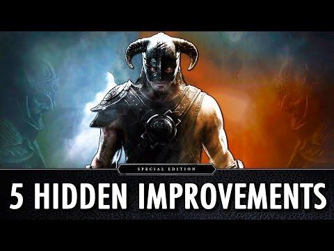 5 Hidden Improvements : Skyrim Special Edition