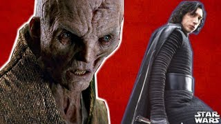 Why Snoke Was Going To KILL Kylo Ren - Star Wars Explained