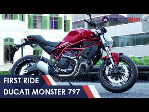ducati monster 797 first ride review | ndtv carandbike - youtube